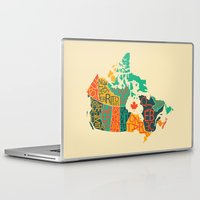 canada Laptop & iPad Skins featuring Canada by Mohit Gupta