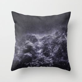 Sometimes ... the trees are angry Throw Pillow