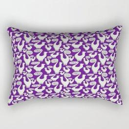 SNOOTY CATS PATTERN TAKE 2 Rectangular Pillow
