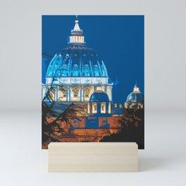 Saint Peters Basilica Mini Art Print