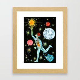 Illusion of existence Framed Art Print