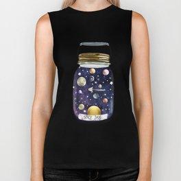space jam jar Biker Tank