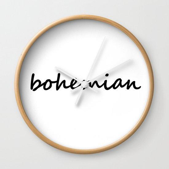 bohemian (1) Wall Clock