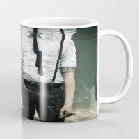 abyss Mugs featuring abyss of the disheartened VIII by Heather Landis
