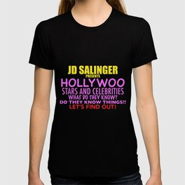 Hollywoo Stars and Celebrities T-shirt
