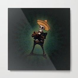 Mariachi trompetista Metal Print