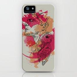 Castiel   Silent Hunter iPhone Case