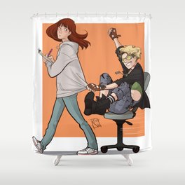 Holtzbert 2 Shower Curtain