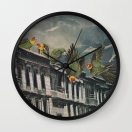 Visitors Wall Clock