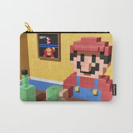 Game over Mario Carry-All Pouch
