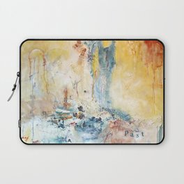 She Comes With A Past by Nadia J Art Laptop Sleeve