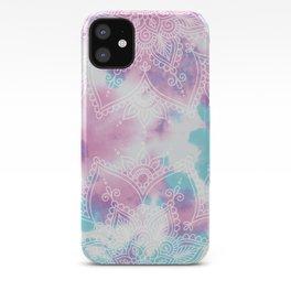 Henna Tie Dye iPhone Case