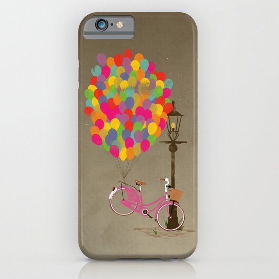 Love to Ride my Bike with Balloons even if it's not practical. iPhone & iPod Case