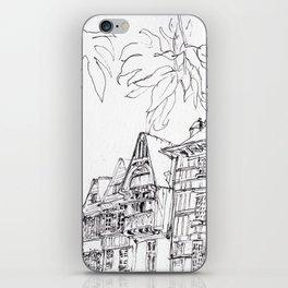 a few timber frames iPhone Skin