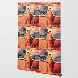 Retro Girl Wallpaper
