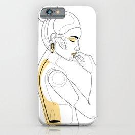 Lemon Girl iPhone Case
