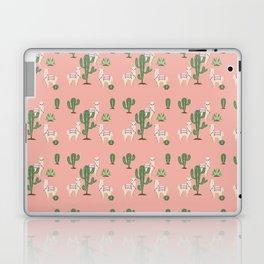 Alpaca with Cacti Laptop & iPad Skin
