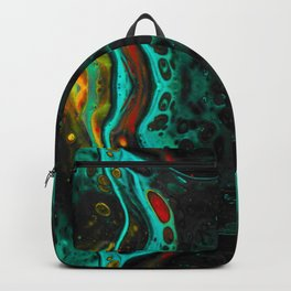 Turquoise  Pulse Backpack
