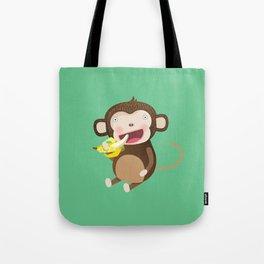 Monkeys love bananas Tote Bag