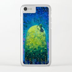 Oasis in the Urban Jungle Clear iPhone Case