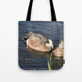 American Wigeons Tote Bag