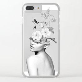 Floral beauty 2 Clear iPhone Case