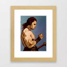 Conan The Barbarian Framed Art Print