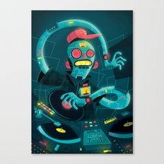 DJ Machine 2000 Canvas Print