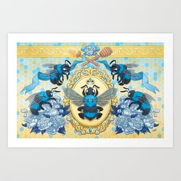 Royal Honey Art Print