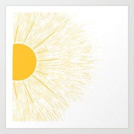 You're My SunShine Art Print