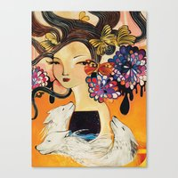3 wishes Canvas Print