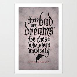 Bad Dreams Art Print