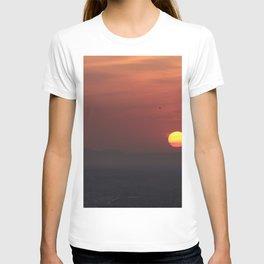 Red sunset. Granada T-shirt
