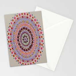 Southwest Summer Sunset Wish Board Mandala Stationery Cards
