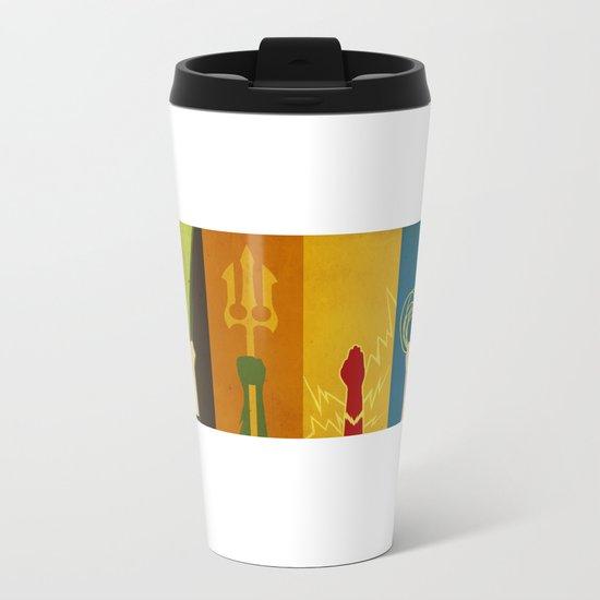 Justice Metal Travel Mug