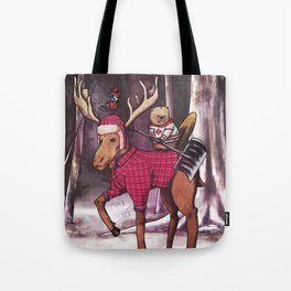Most Canadian Picture Tote Bag