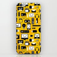 technology iPhone & iPod Skins featuring Technology  by adrianperive