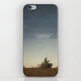 Faithful iPhone Skin