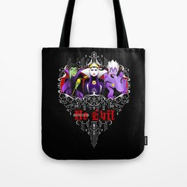Three Wise Villains Tote Bag