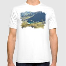 Among The Slopes Mens Fitted Tee White MEDIUM