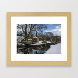 West Summit Lock 37 Framed Art Print