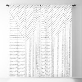 Lines Art Blackout Curtain