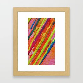 The Manipulation Of Paint #3 Framed Art Print