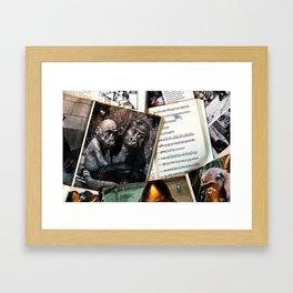 Melody for a Monkey - BERLIN - Germany Framed Art Print
