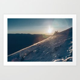ELBERT ASCENT 01 Art Print