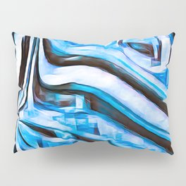 Blue Dragon Pillow Sham