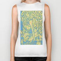 snatch Biker Tanks featuring Attack Of The 50 Foot Snatch Monster  by S.D. Strobeck