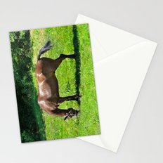 A Grazing Horse Stationery Cards
