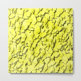 yellow butterflies Metal Print