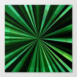 North Texas Green Sun Canvas Print